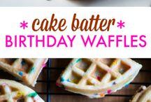 Breakfast - Waffle Recipes To Try