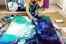 abstrakti maalalus