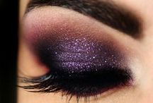 eye makeup / hairstyles / nails