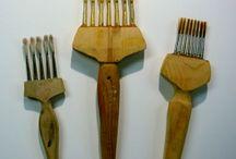 Homemade brushes