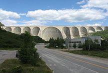 Barrages Québec /Monde / Barrages hydroélectriques
