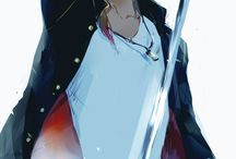 Anime Warriors / Wojownicy, Samuraje, Rycerze - faceci :3