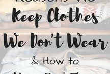 Clothes that you don't wear
