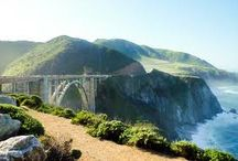 Road Trip - Pacific Coast Highway (Route 1), California / 123 Mile ocean-hugging highway from Monterey to Morro Bay