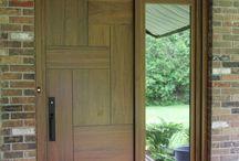 wooden front door ideas modern
