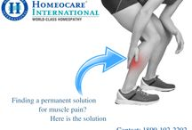 Homeopathic treatment for muscle pain