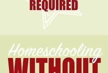 Homeschooling - Schoolroom