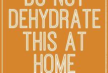 dehydrating / by ritz