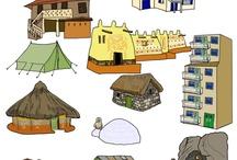 Kleuters Bouwen - Huizen