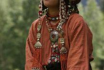 Közép Ázsia, kirgiz, türkmén, üzbég