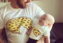 Camisetas para hijos y padres