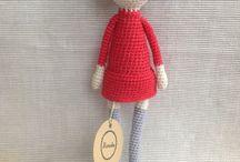 manuska dolls / Crochet dolls and patterns