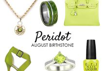 Birthstones / A collage of our favorite jewelry incorporating all 12 birthstones!