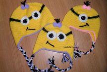 Minons em croche / tricot