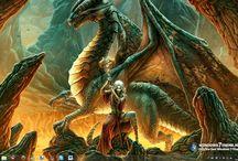 Драконы / Фантазийные образы драконов