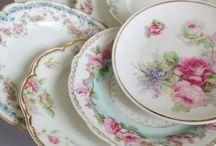 Old crockery / Oud servies / Beautiful old crockery Prachtig oud servies