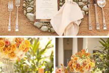 Bröllopsdekorationer/dukning / Inspiration för vacker bröllopsdukning i olika teman.