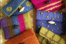Knitting with felt