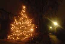 X-Mas Decoration / Deco, Kugeln, Bäume, Lichter, SEUFZ
