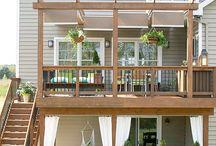 Fence, Deck & Patio Ideas / by Brandy Underberg