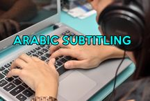 ARABIC SUBTITLING / Perfect Arabic Subtitling Top notch subtitling service, covering all dialect. Our definitive point is to encourage your communication objectives. Our Arabic translation team is perfect to give subtitles to all movies, documentaries, etc. guaranteeing strict quality control at each stage. To this end, we have put in place a system to assure you get the intended result