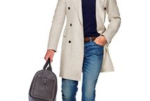 "Casual Chic Man Outfits / For men, the ""casual chic"" dress code implies a tailored shirt and khakis or simple wool trousers. If the occasion seems especially relaxed, dark jeans are appropriate. A suit jacket, blazer or tie is too formal."