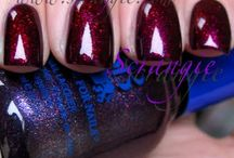 Erratic (as in unique to the nail artist's whim) Layered polish colors / by beachgal