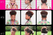 Natural hairs