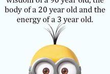 Funny quotes / Minions fun