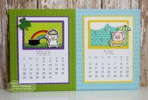 Calendar critters