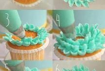 Cupcakes + yummy treats.