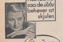 Danish Graphic Vintage / Ads and type examples from Danish ads and magazines