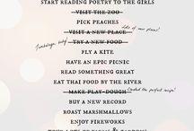 Summer Bucket List / by Lauryn Wright