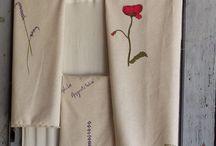 Tissus / Peinture sur tissu