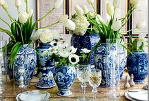 Blue and White / by Gia Milazzo Smith / Designs By Gia Interior Design