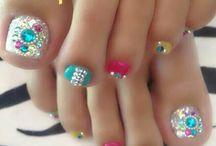 favourite toe nail design