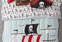 Arrrgh, A Child's Pirate Theme Bedroom, Mateys!
