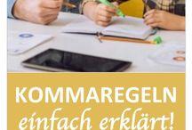 Deutsch Schreiben, Regeln