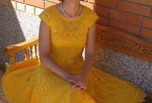crochet vestidos