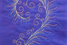 Quilty feathers