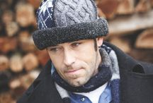 Men's Recycled Wool Hats / Each upcycled woolen hat is created from vintage recycled woolens and is truly one-of-a-kind.