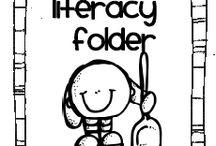 K daily 5/ literacy  / by Danielle Hudson