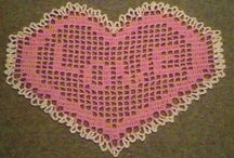 Valentine Crochet / Find crochet patterns to make for your Valentine! / by JPF Crochet Club Julie A Bolduc