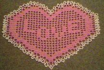 Valentine Crochet / Find crochet patterns to make for your Valentine!