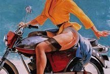 pin up biker