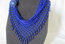 foulard perles