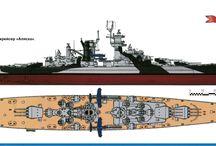 Ships tekeningen