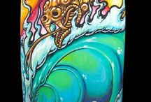 Painted Surfboards / Surfboards I've Painted
