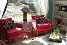 home is where your style is♥ sitting room ideas / by Jenn Carns-Heaton