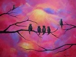 elementary art - landscapes, trees, cityscapes
